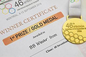 Gold Medal - Apimondia 2019