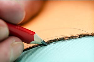 Marking Fabric With Patterns