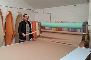 Spreading - Getting Fabric Laid Out To Cut