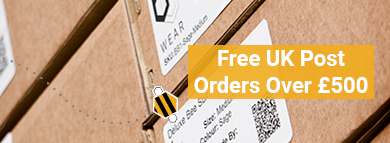 Free UK Post - Order over £500