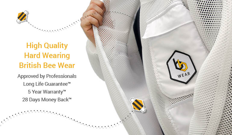 Ultra bee suit tested with Asian hornets